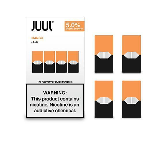 JUUL Pod Mango 4 Pod Pack