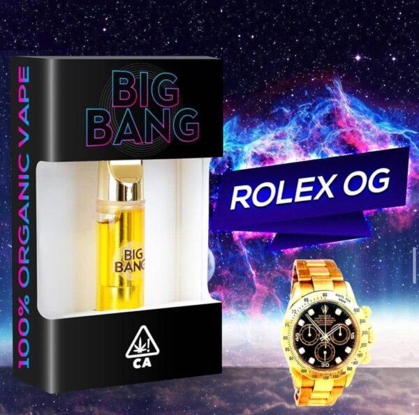 Buy 100% Organic Big Bang Rolex OG Vape Online